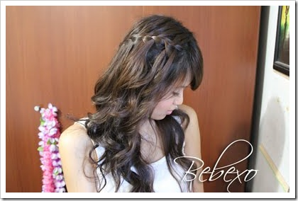 Waterfall Braid Hairstyle